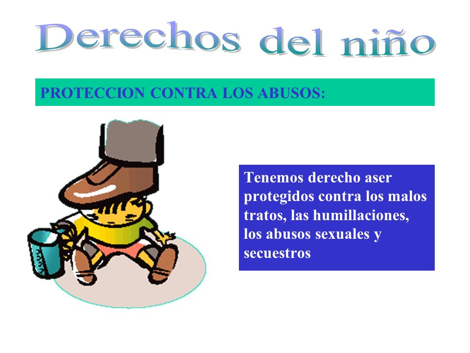 PROTECCION CONTRA LOS ABUSOS: