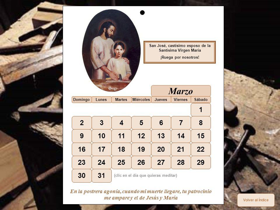 San José, castísimo esposo de la Santísima Virgen María