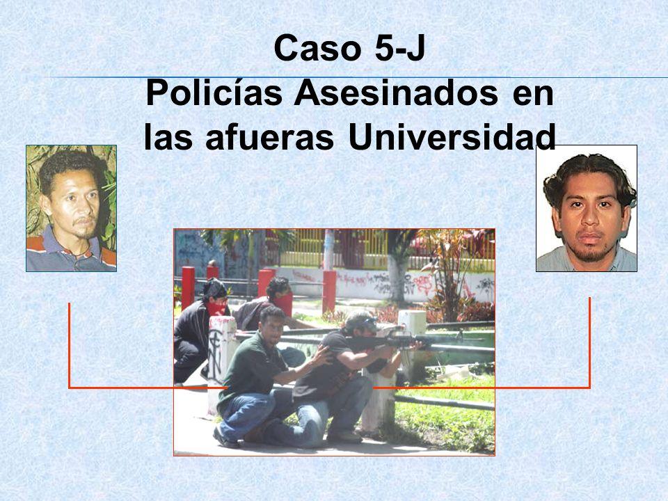Policías Asesinados en las afueras Universidad