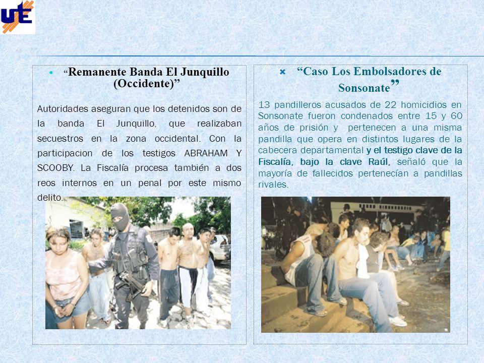Caso Los Embolsadores de Sonsonate