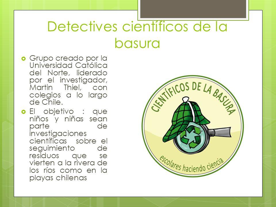 Detectives científicos de la basura