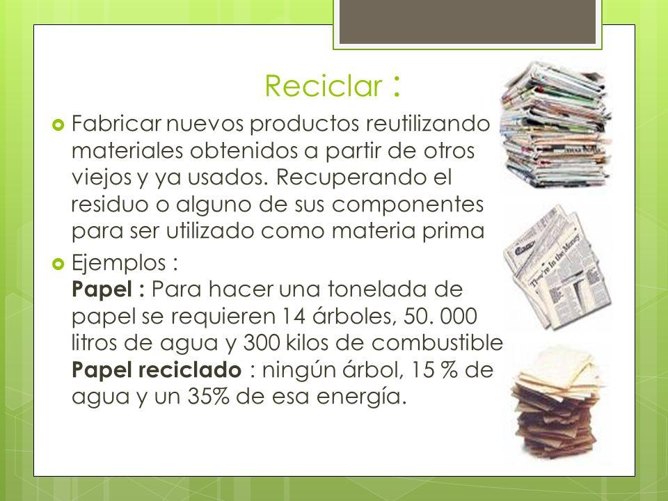 Reciclar :