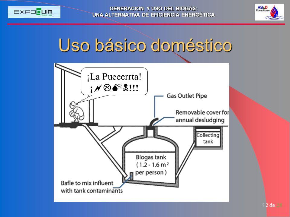 Uso básico doméstico ¡La Pueeerrta! ¡!!! ¡##@!!!