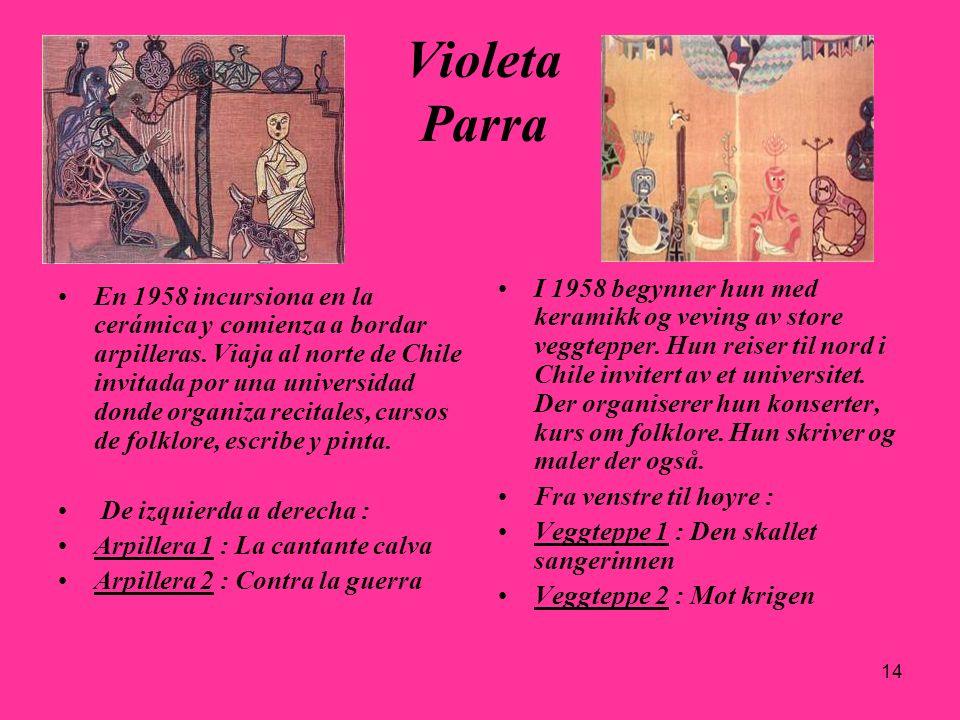 29.03.2017 Violeta Parra.