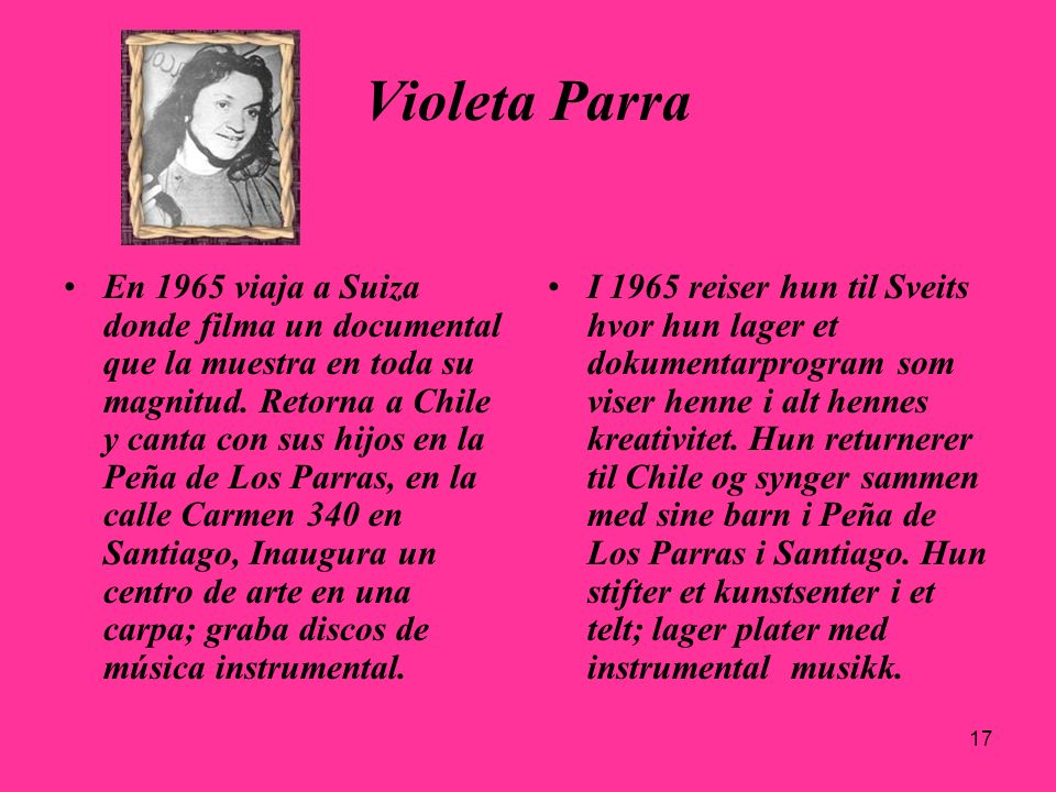 29.03.2017Violeta Parra.
