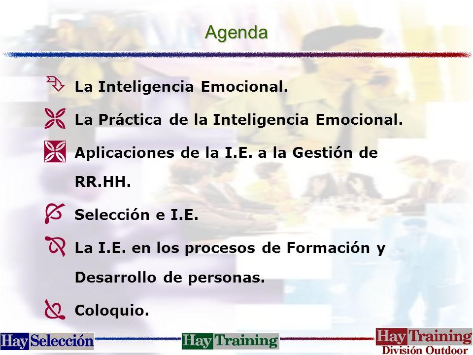 Agenda La Inteligencia Emocional.
