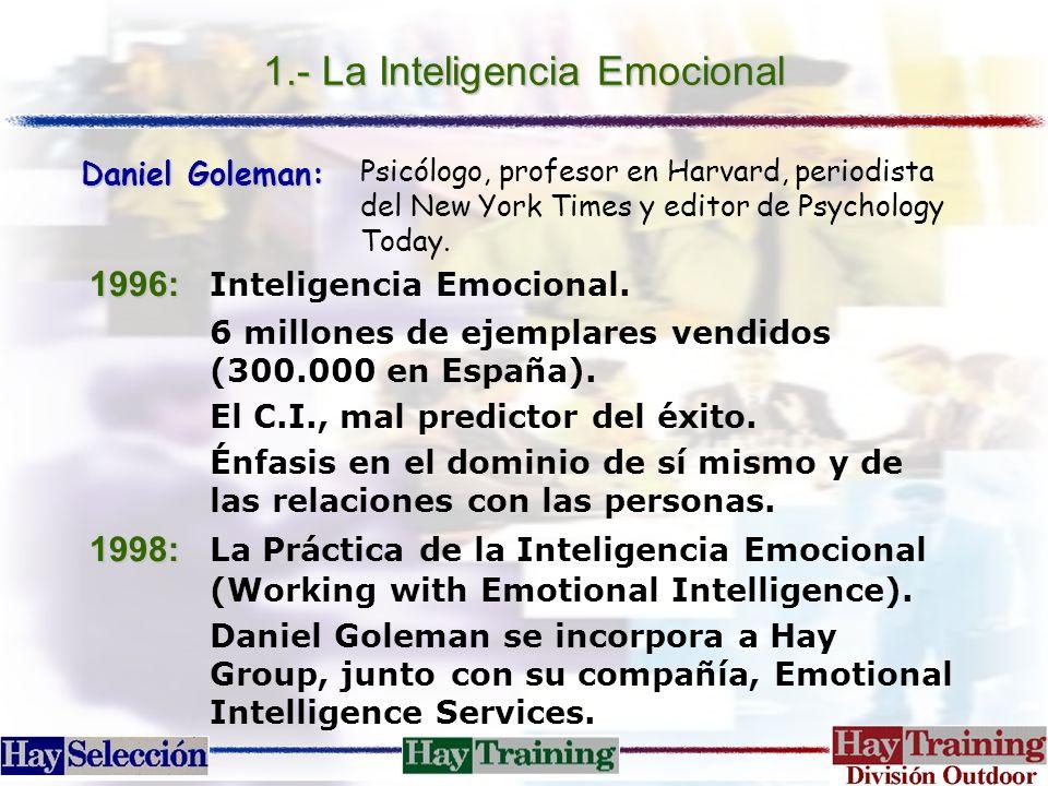 1.- La Inteligencia Emocional