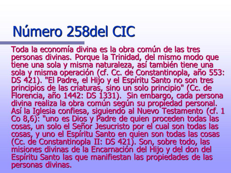 Número 258del CIC