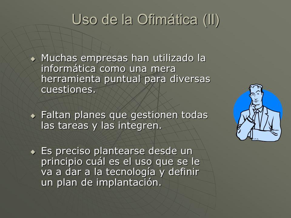 Uso de la Ofimática (II)