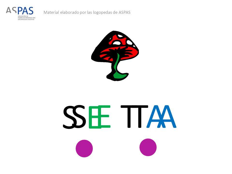 Material elaborado por las logopedas de ASPAS