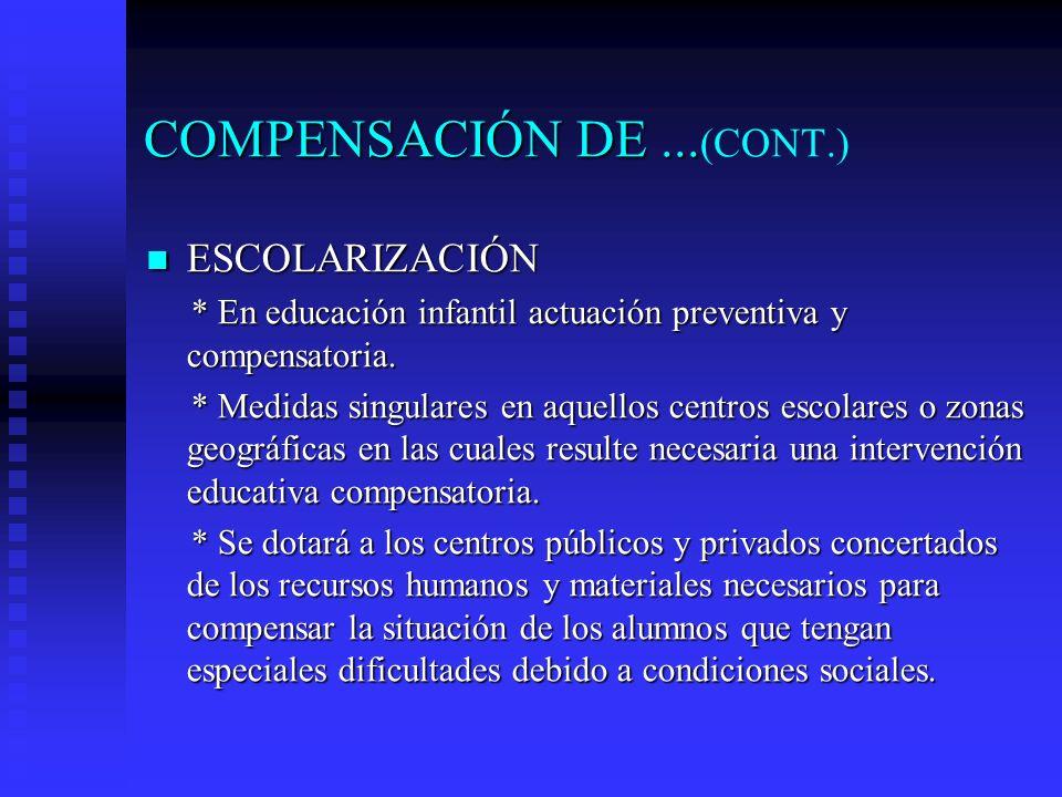 COMPENSACIÓN DE ...(CONT.)