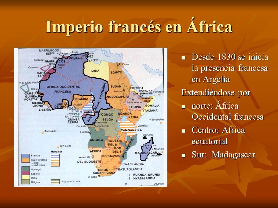 Imperio francés en África