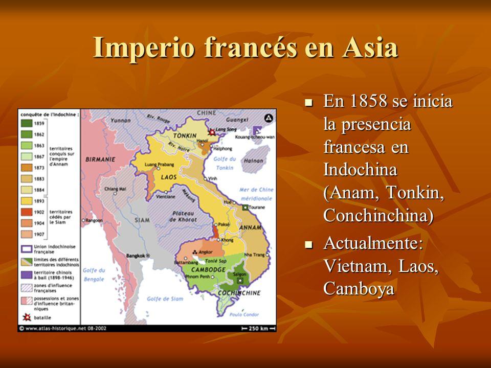 Imperio francés en Asia