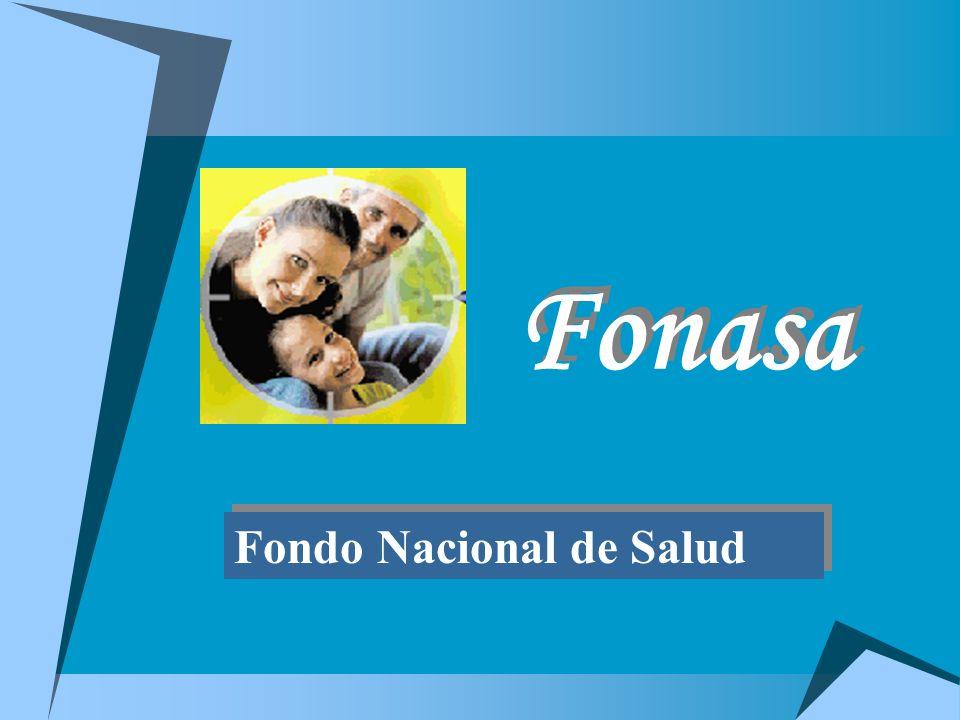 Fonasa Fondo Nacional de Salud