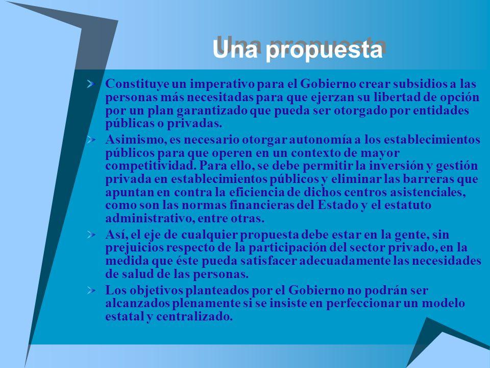 Una propuesta