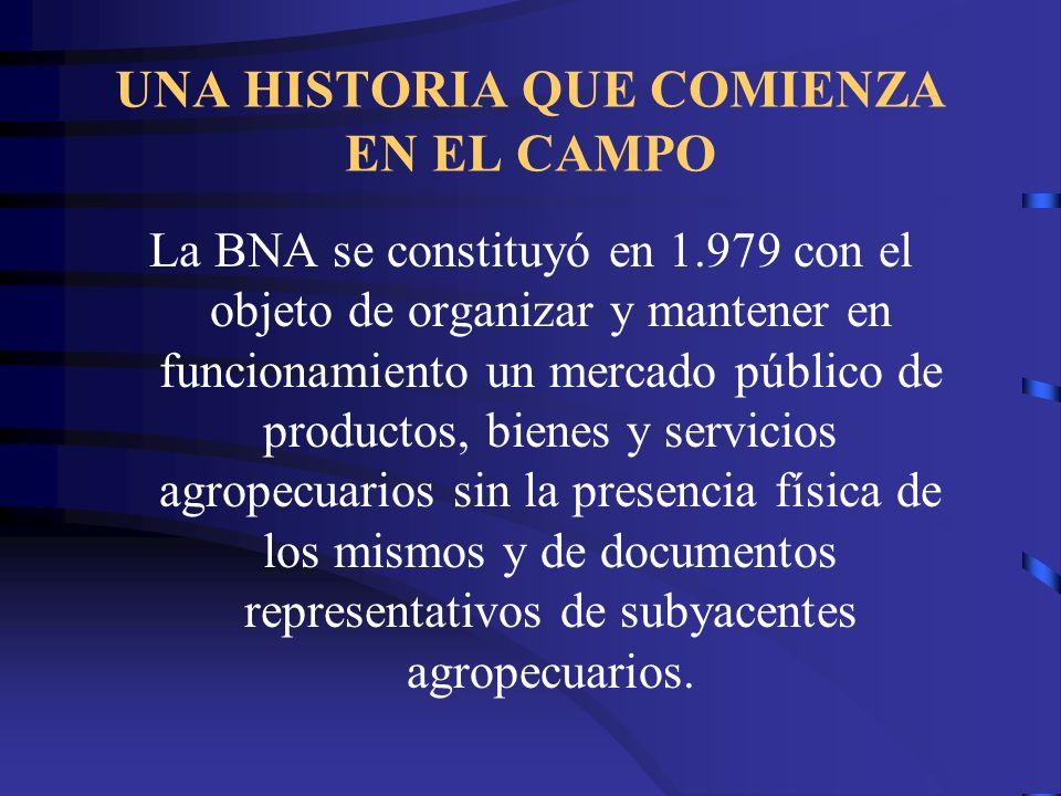 UNA HISTORIA QUE COMIENZA EN EL CAMPO