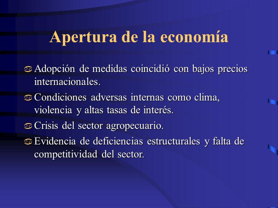 Apertura de la economía