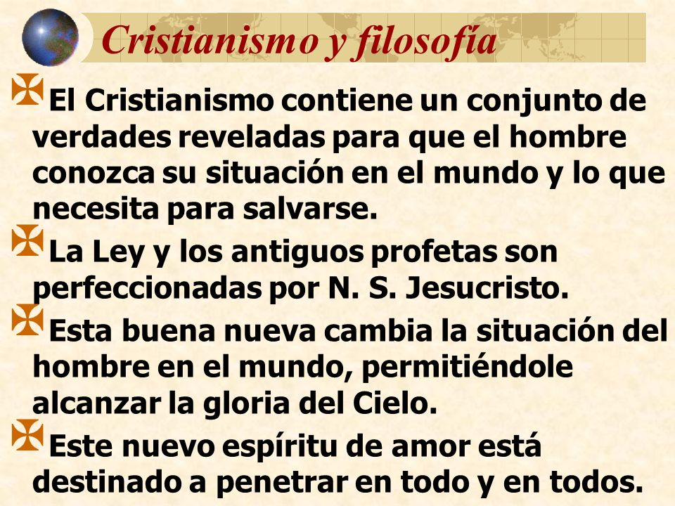 Cristianismo y filosofía