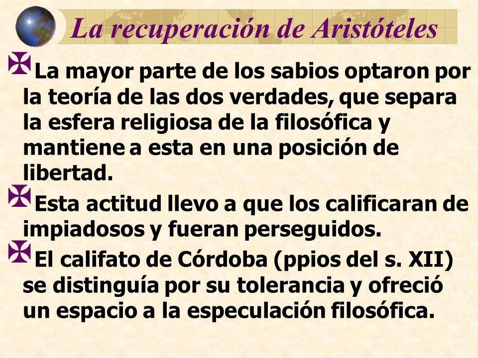La recuperación de Aristóteles