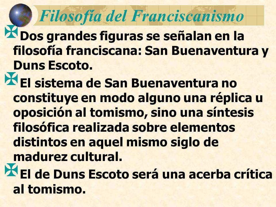 Filosofía del Franciscanismo