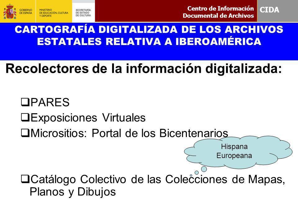 Recolectores de la información digitalizada: