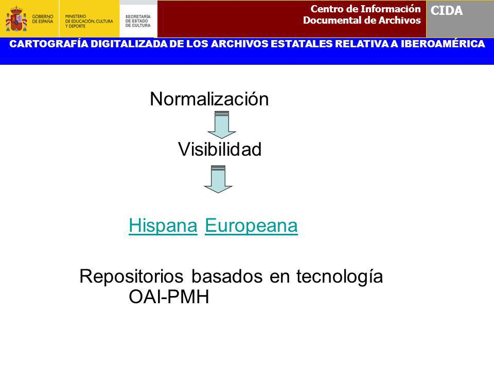 Repositorios basados en tecnología OAI-PMH