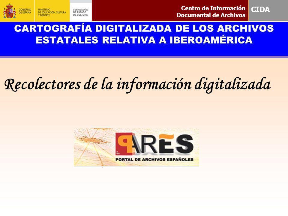 Recolectores de la información digitalizada