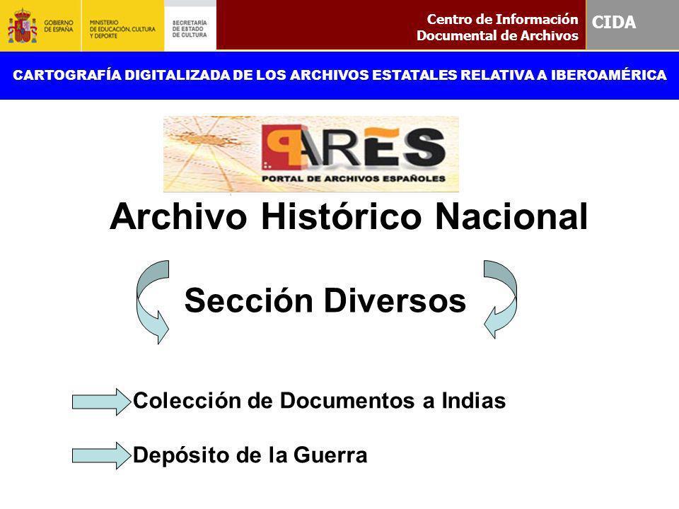 Colección de Documentos a Indias Depósito de la Guerra