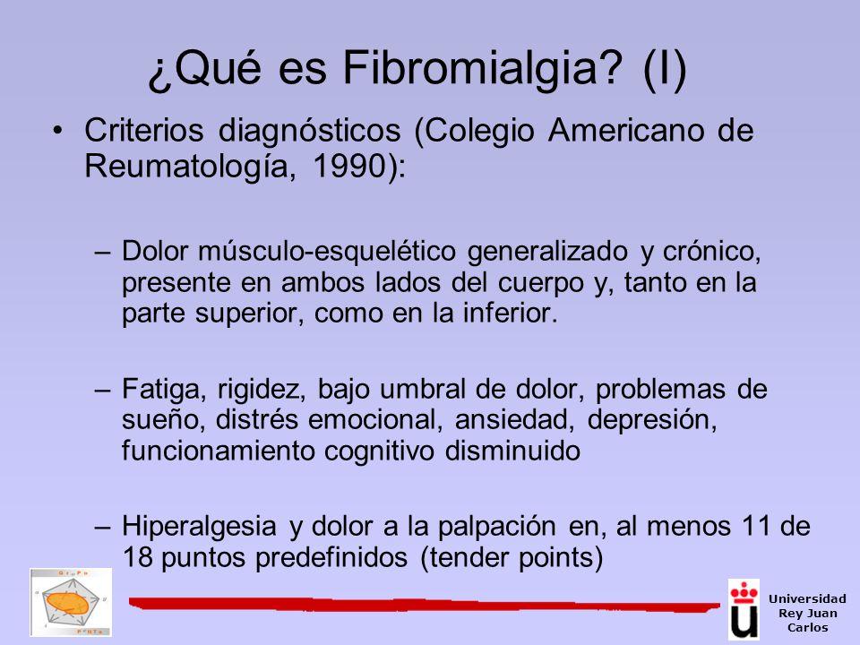 ¿Qué es Fibromialgia (I)
