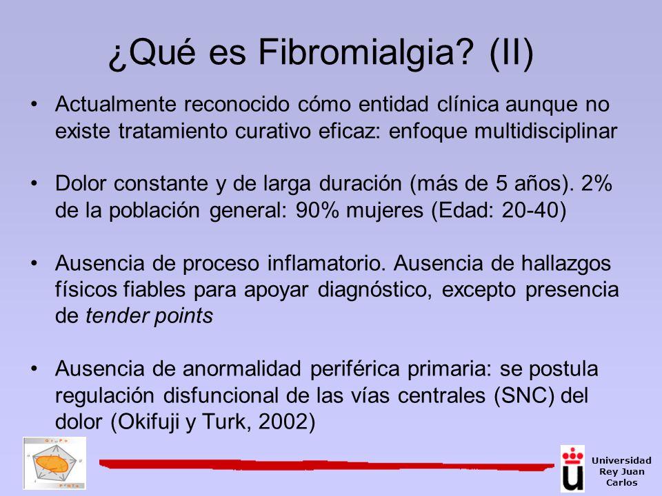 ¿Qué es Fibromialgia (II)