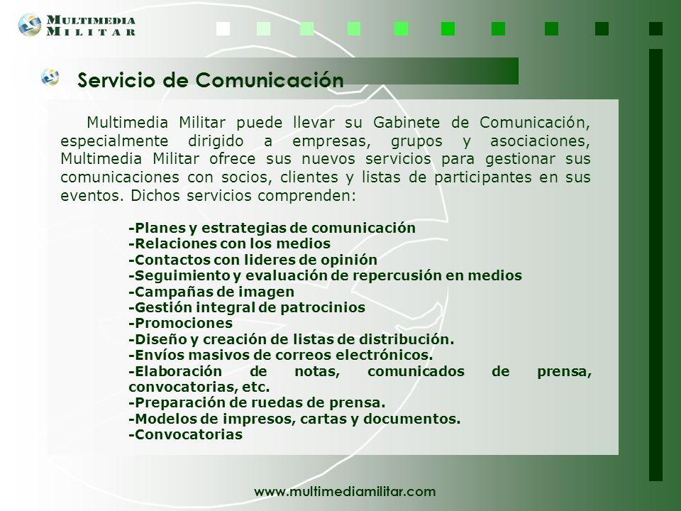 Servicio de Comunicación