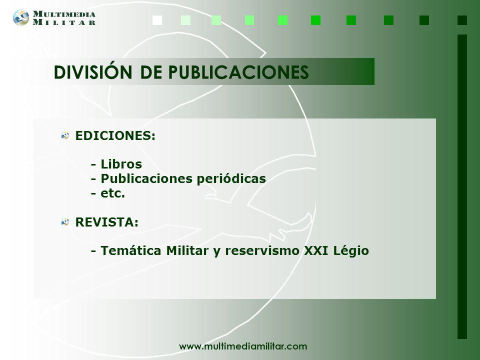 DIVISIÓN DE PUBLICACIONES