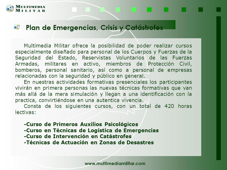Plan de Emergencias, Crisis y Catástrofes