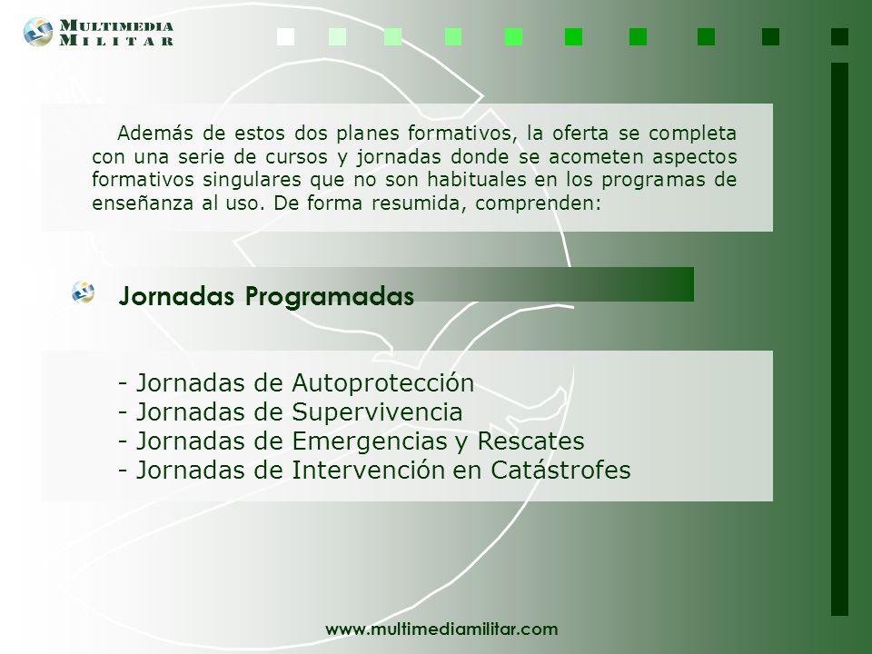Jornadas Programadas - Jornadas de Autoprotección