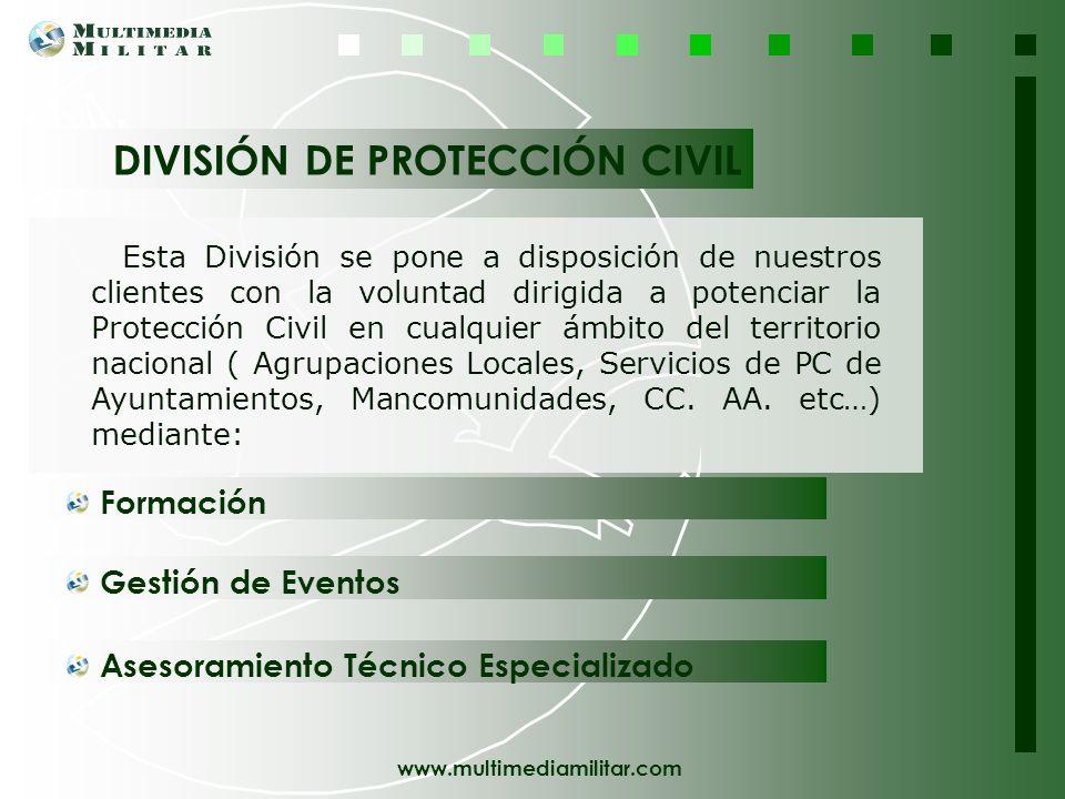 DIVISIÓN DE PROTECCIÓN CIVIL
