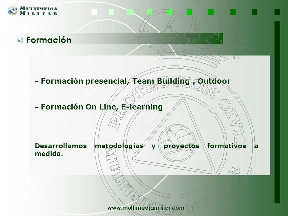 Formación - Formación presencial, Team Building , Outdoor
