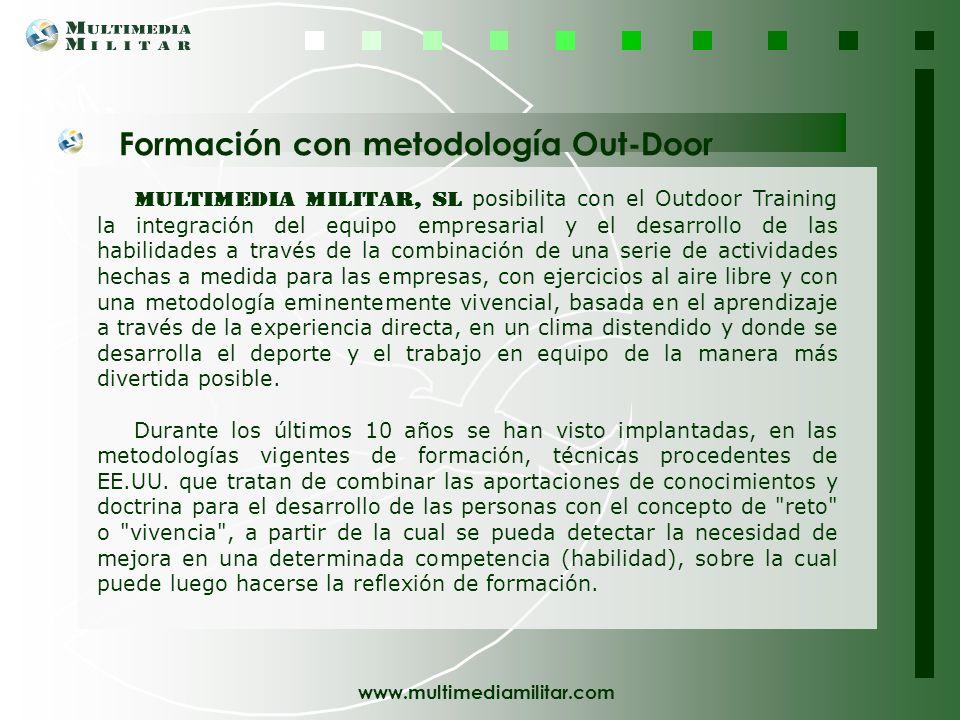 Formación con metodología Out-Door