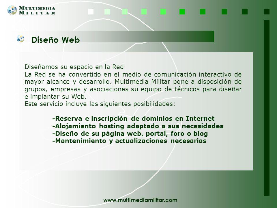 Diseño Web Diseñamos su espacio en la Red