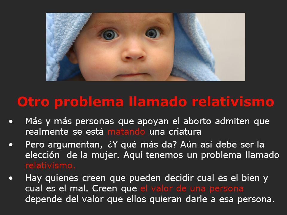 Otro problema llamado relativismo