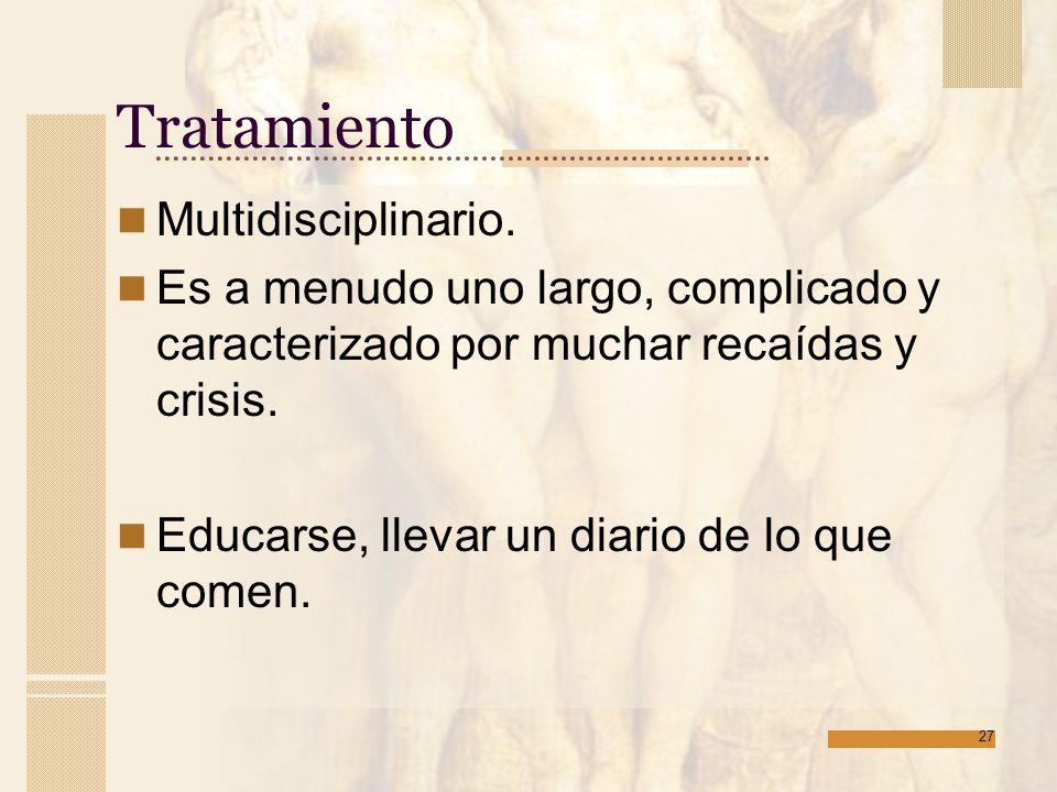 Tratamiento Multidisciplinario.