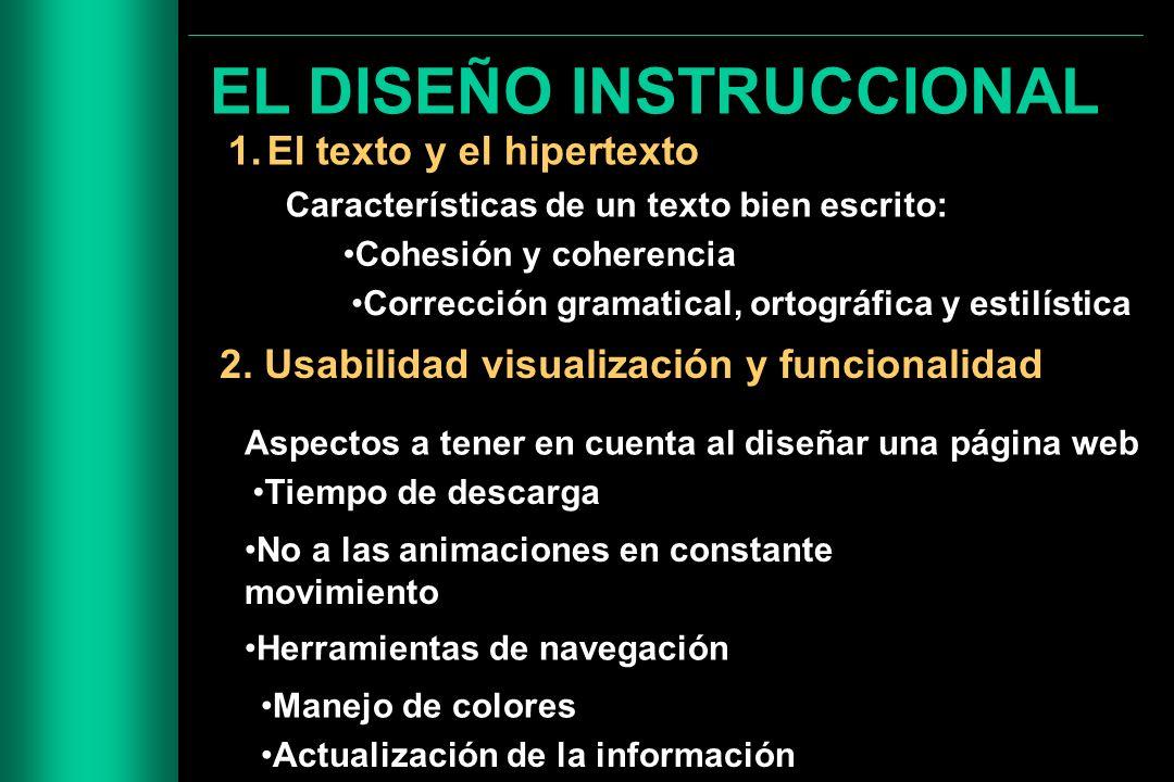 EL DISEÑO INSTRUCCIONAL