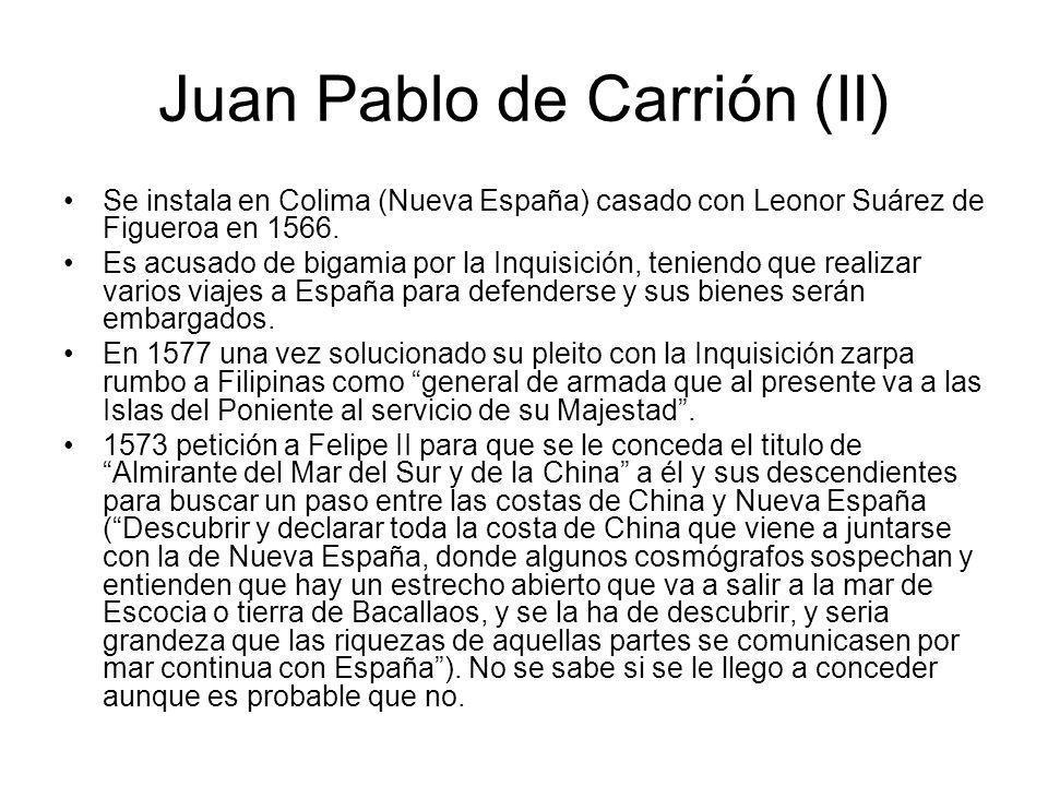 Juan Pablo de Carrión (II)