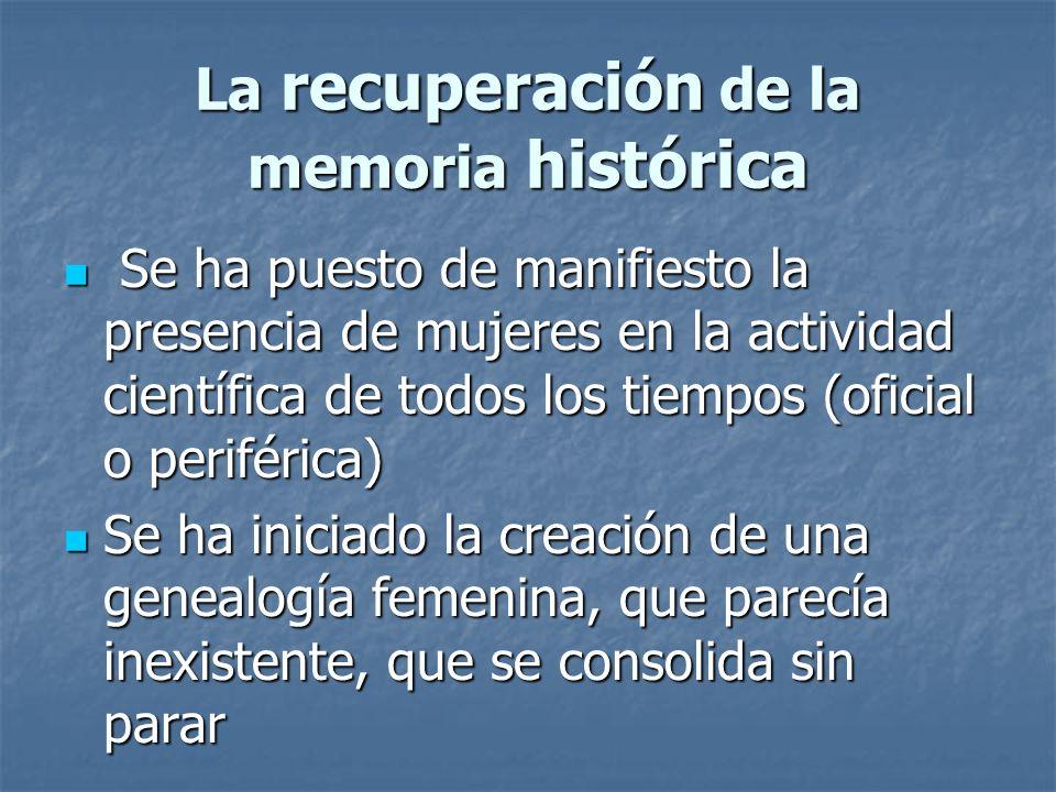 La recuperación de la memoria histórica