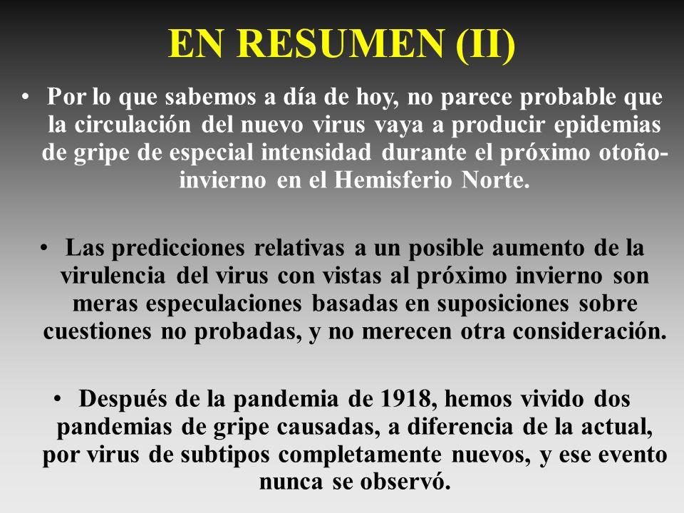 EN RESUMEN (II)