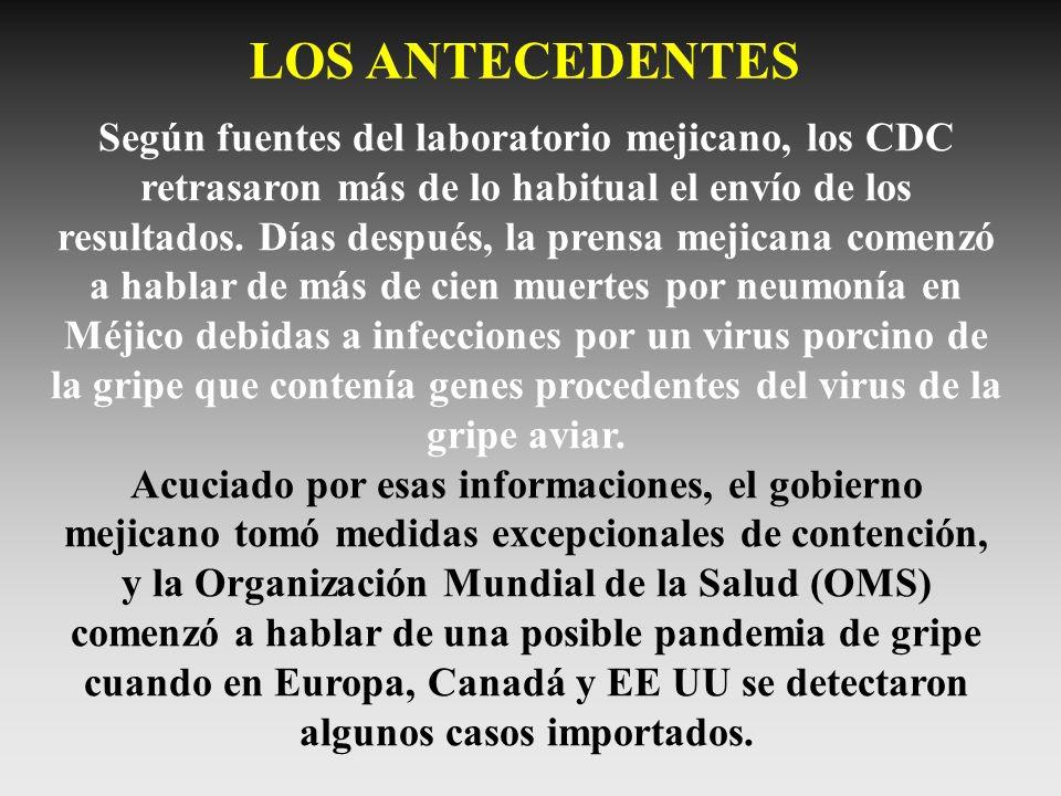 LOS ANTECEDENTES