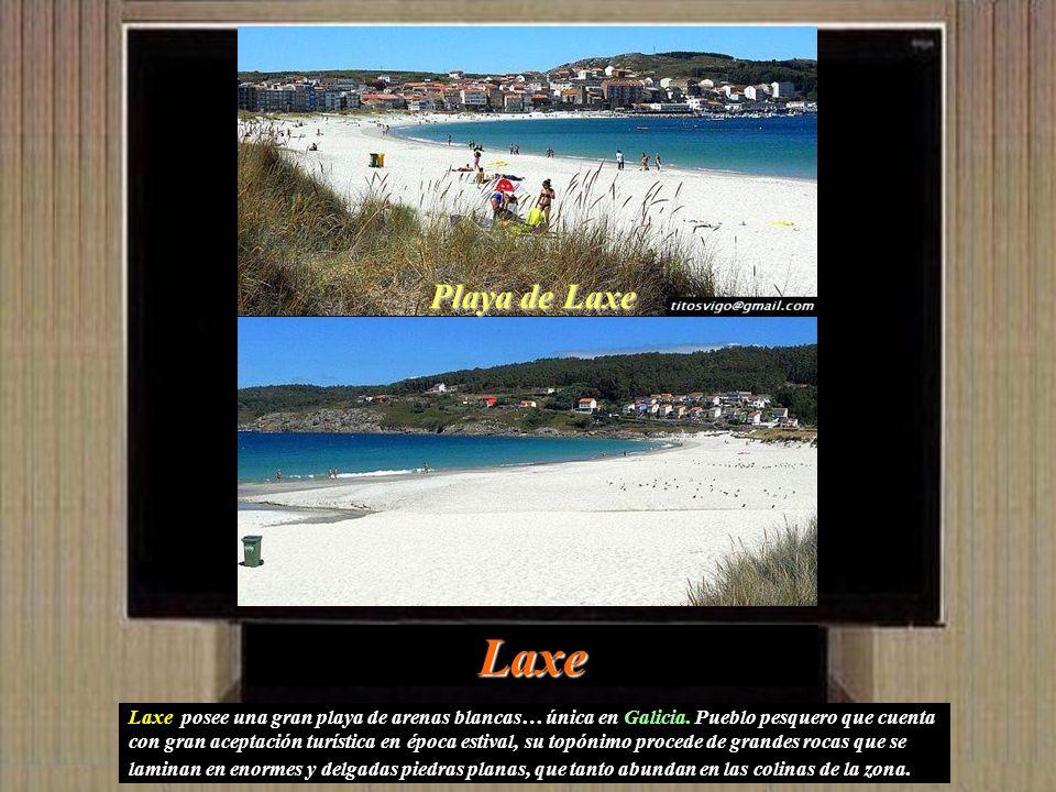 Playa de Laxe Laxe.
