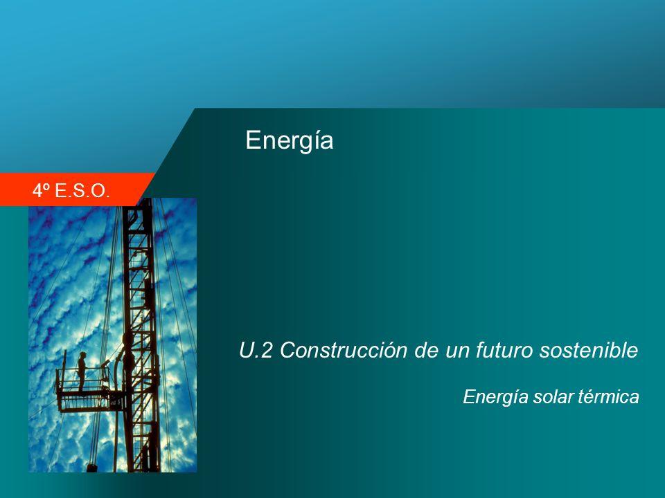 Energía U.2 Construcción de un futuro sostenible Energía solar térmica