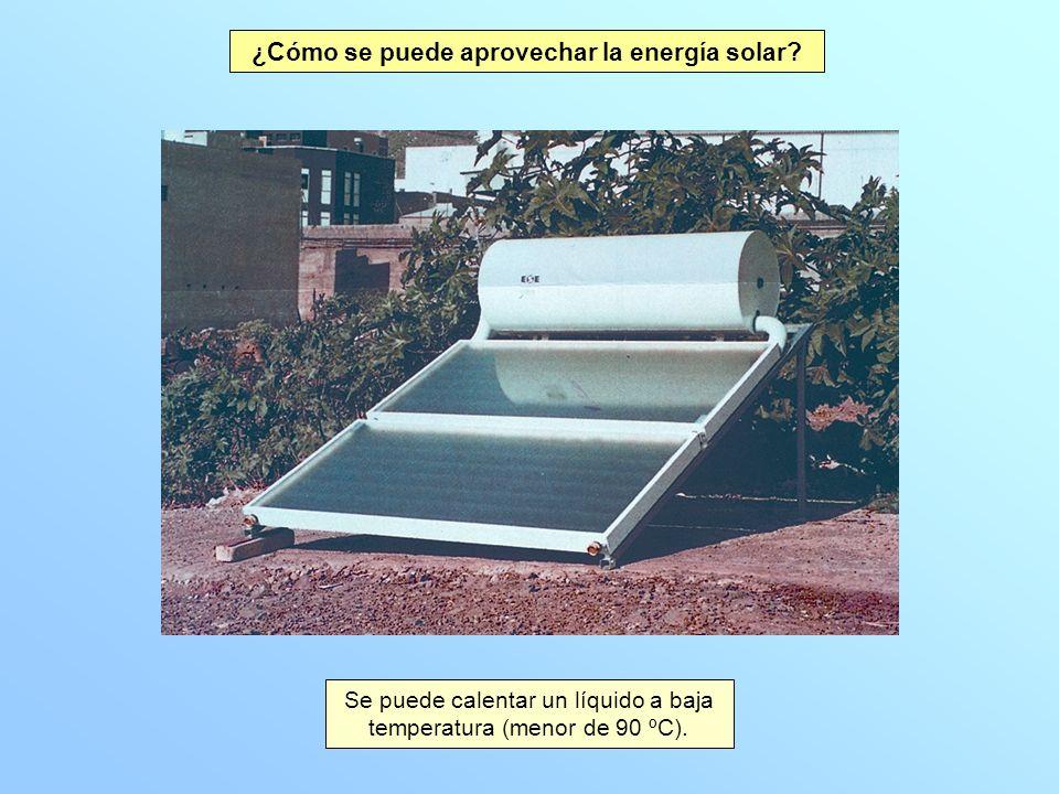 ¿Cómo se puede aprovechar la energía solar