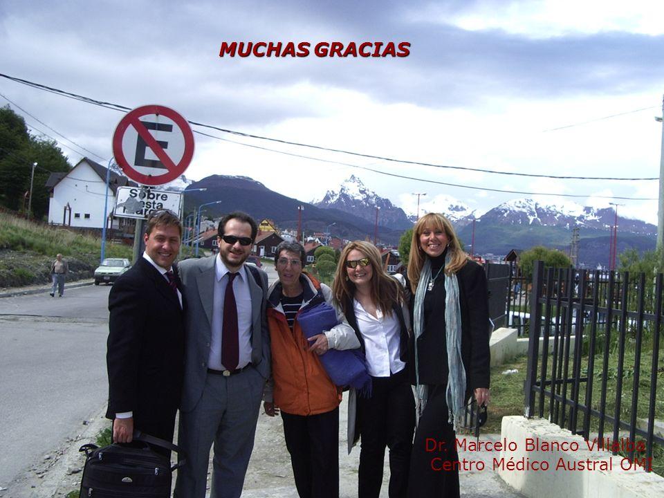¡Muchas Gracias! MUCHAS GRACIAS Dr. Marcelo Blanco Villalba