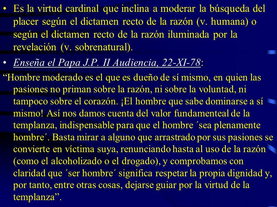 Enseña el Papa J.P. II Audiencia, 22-XI-78: